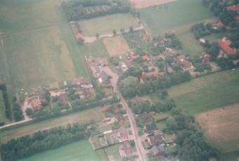 Alte Luftaufnahmen von Lathen-Wahn