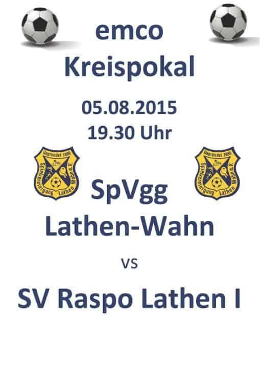Kreispokal Derby Plakat