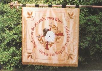 Fahne Schützengesellschaft - Rückseite