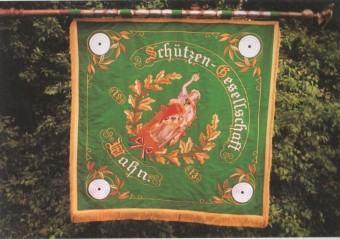Fahne Schützengesellschaft - Vorderseite