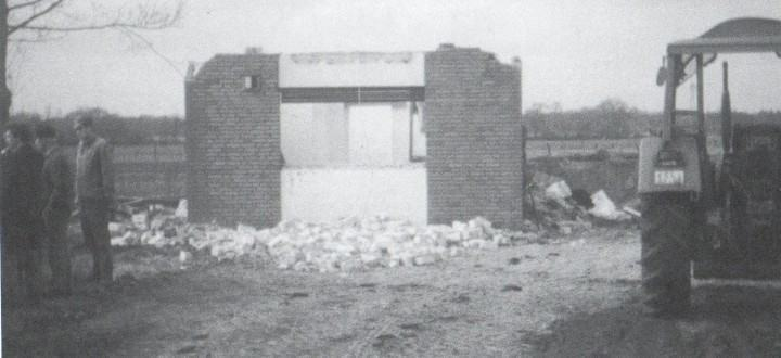 Abriss des alten Schützenhaus
