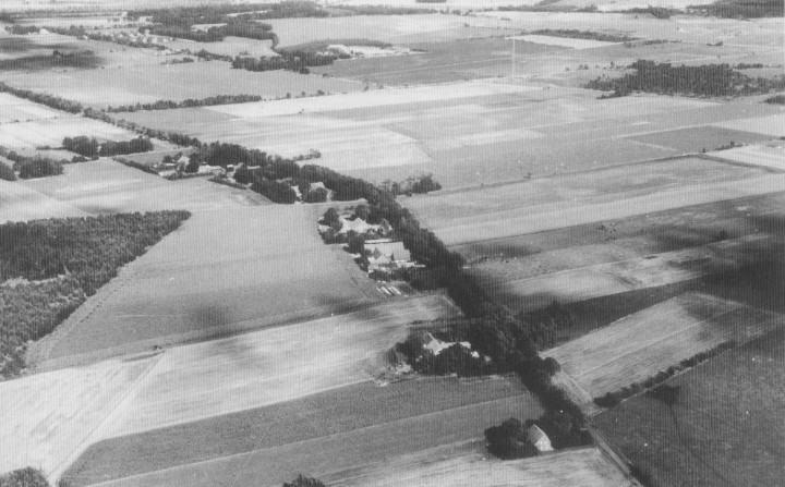 alte Luftaufnahme - Kathen
