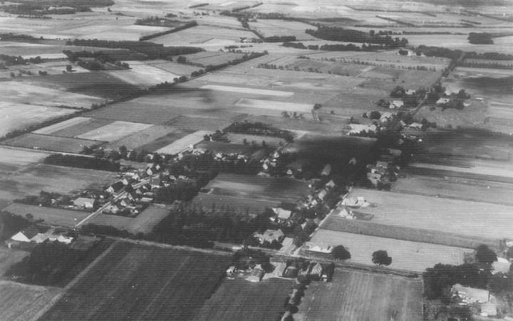 alte Luftaufnahme - Lathen-Wahn