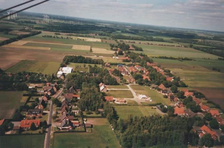 neue Luftaufnahme - Lathen-Wahn