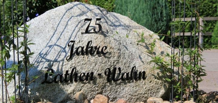 75 Jahre Lathen-Wahn Stein