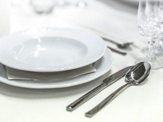 Dinner in white