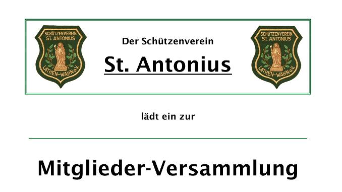 Schützenverein_Mitgliederversammlung_2019
